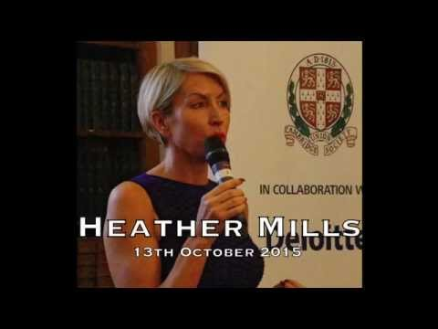 Heather Mills | Highlights | Cambridge Union