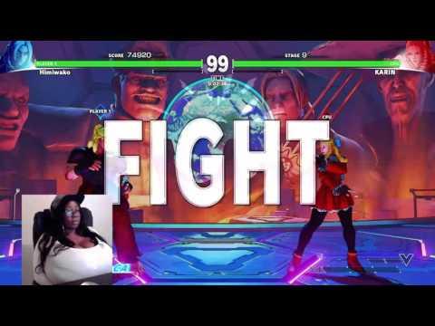 Himiwako Street Fighter V Livestream 22-04-2016 (Part 8)