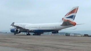 Avião da British Airways aterra de emergência na Rússia