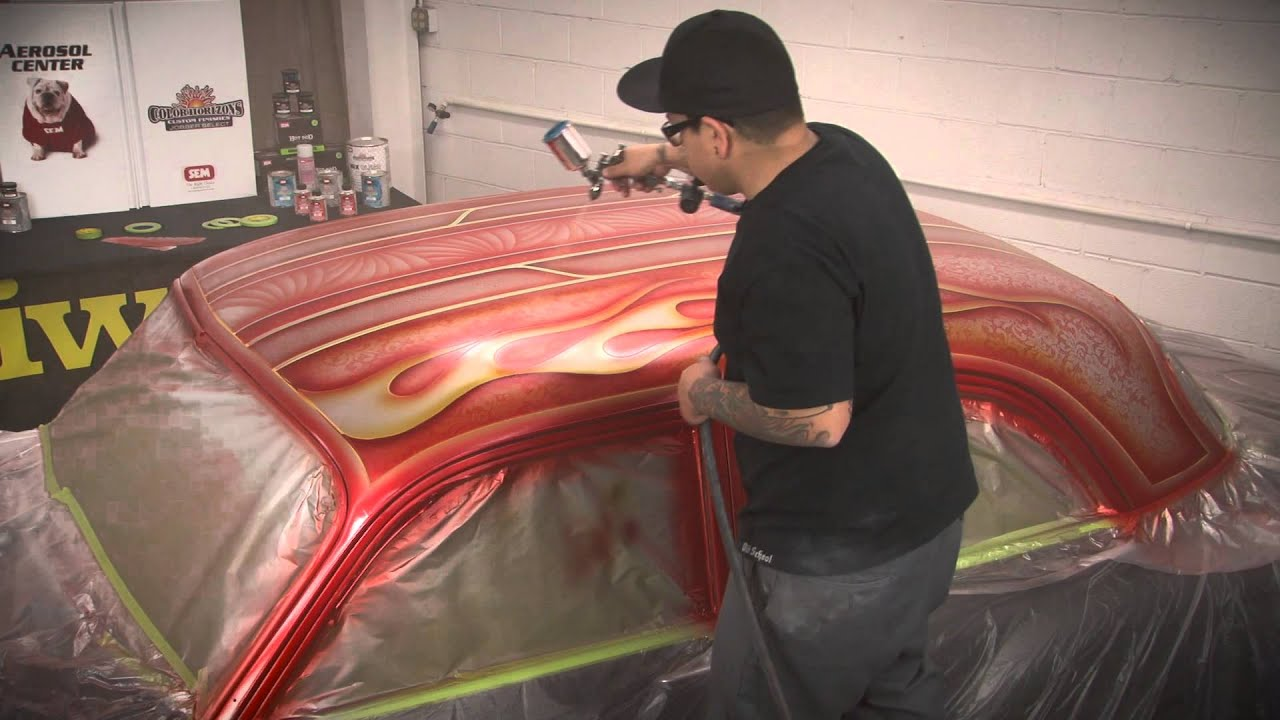Custom Vehicle Graphics W Armando Serrano Youtube