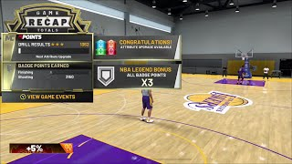 EASY WAY TO GET YOUR BAGDE & ATTRIBUTE UPGRADES ON NBA2K20!!!! VERY EFFICIENT!!!