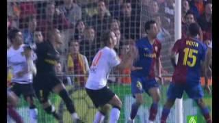 Valencia CF 2 vs FC Barcelona 2 - Temporada 2008/2009