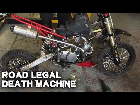 Road Legal Death Machine - Reborn