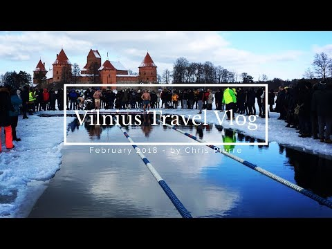 4 DAYS IN VILNIUS, LITHUAINIA/TRAVEL VLOG 2/FEBRUARY 2018