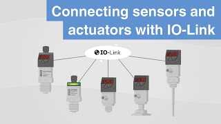 Connecting sensors and actuators | IO-Link