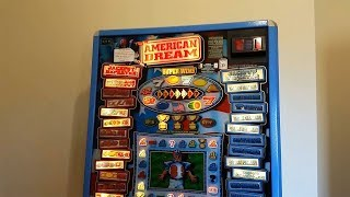 The Day American Dream Fruit Machine Arrived