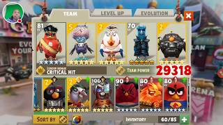 What Birds Should New Players Build - Angry Birds Evolution