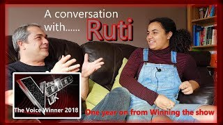 Conversation with Ruti - The Voice winner 2018 one year on Video