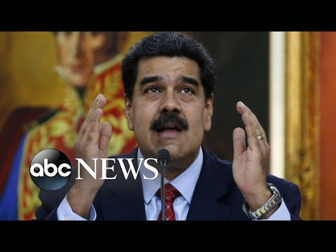 Venezuela President Maduro accuses US of leading a coup to force him from power