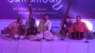 Evening Performance Carnatic Concert by TM Krishna....