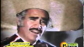 Watch Vicente Fernandez La Diferencia video