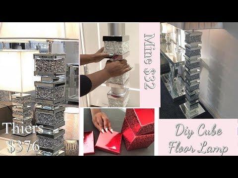 how-to-fake-a-2020-decor-trend|-diy-floor-lamp|-luxury-home-decor-2020!!!