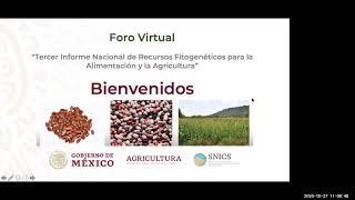 Tercer Informe Nacional de Recursos Fitogenéticos para la Alimentación y la Agricultura