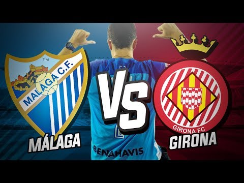 Málaga CF vs Girona FC (0-0)   Jornada 21 Liga Santander 2017/18   Post-Partido