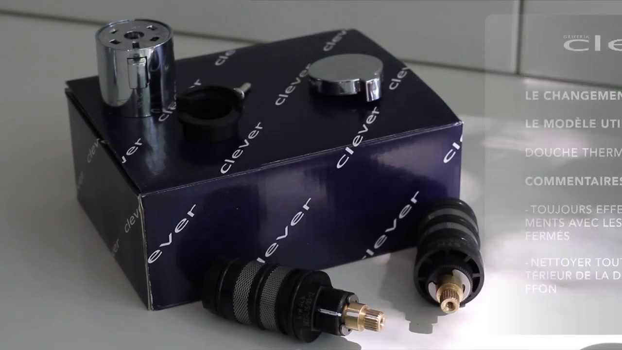 Le changement de cartouche thermostatique youtube - Changer cartouche mitigeur thermostatique ...