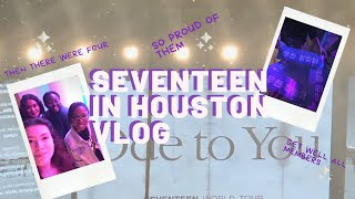 200118 ode to you in houston |ode to you world tour| seventeen concert vlog + carat cafe