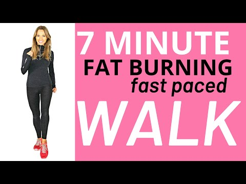 7 MINUTE WALKING AT HOME WORKOUT – IDEAL FOR BEGINNERS -EASY EXERCISE FOR WEIGHT LOSS -1000 Steps