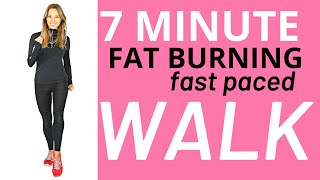 7 MINUTE WALKING AT HOME WORKOUT - IDEAL FOR BEGINNERS -EASY EXERCISE FOR WEIGHT LOSS -1000 Steps
