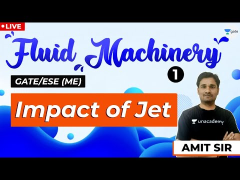 Fluid Machinery | Lec 1 | Impact of Jet | GATE/ESE Mechanical Engg