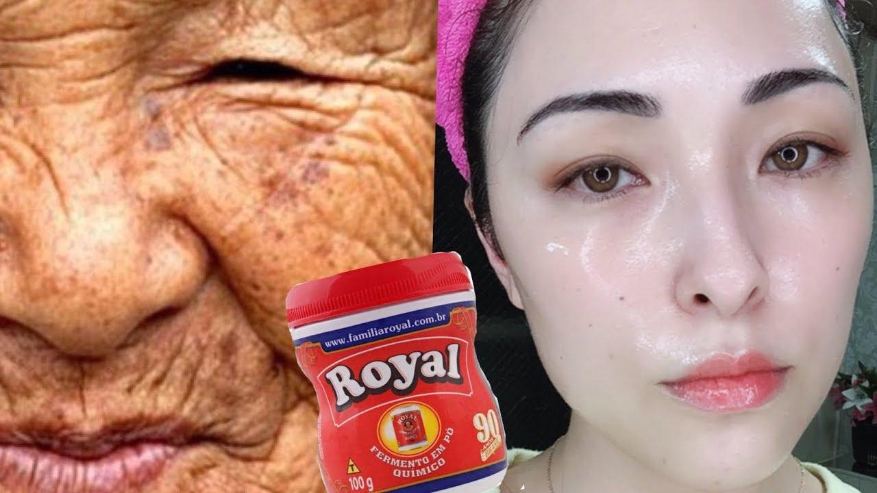 Remova Manchas E Cicatrizes Da Pele Com Po Royal Youtube