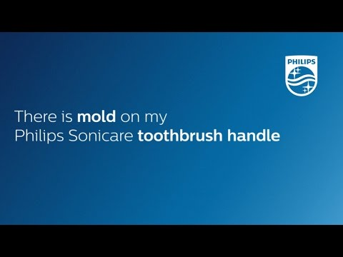 There is mold on my Philips Sonicare electric toothbrush handle