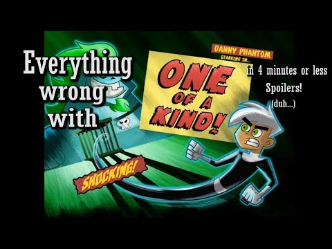 Everything Wrong with Danny Phantom: One of a Kind