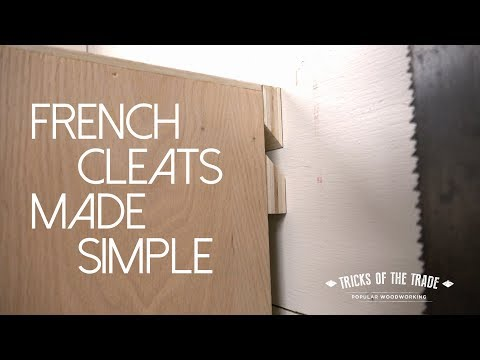 how-to-make-french-cleats-|-tricks-of-the-trade