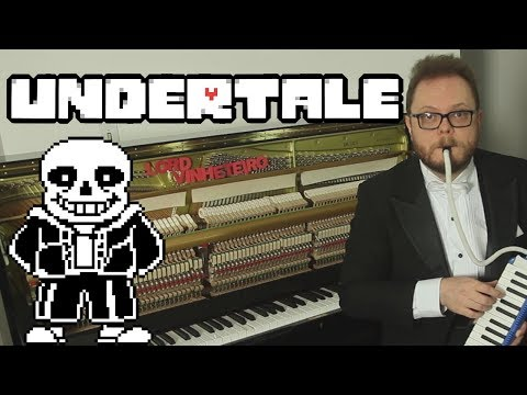 Undertale - Megalovania with Piano and Melodica