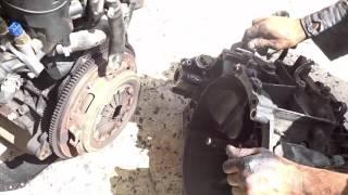 Démontage du moteur Peugeot diesel - Mecanique Mokhtar Tunisie - تفكيك بيجو محرك الديزل