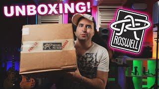Unboxing ROSWELL PRO AUDIO microphones Pack!