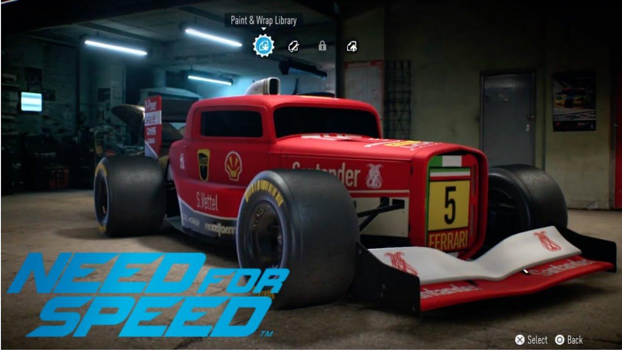 Nfs  Race Car Hot Rod