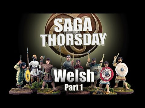 SAGA THORSDAY - Welsh Battle Board and Tactics! Part 1