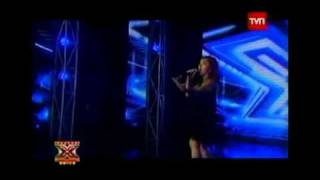Dominique - La Violeta y la Parra (Factor X Chile).avi