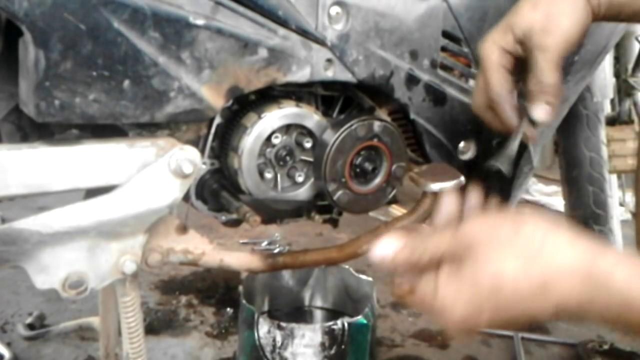 Download Sketsa Gambar Teknik Kopling Motor Matic