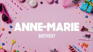 Anne-Marie - BIRTHDAY (2020 / 1 HOUR LOOP)