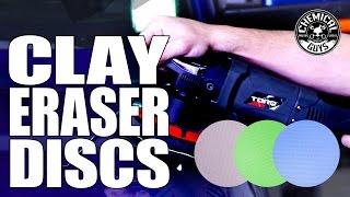 Clay Eraser Disc - Chemical Guys Clay Bar Car Care