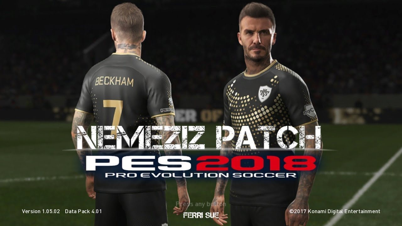 PES 2018 PS3 Nemeziz Patch 1 5 AIO Support CFW and OFW HAN