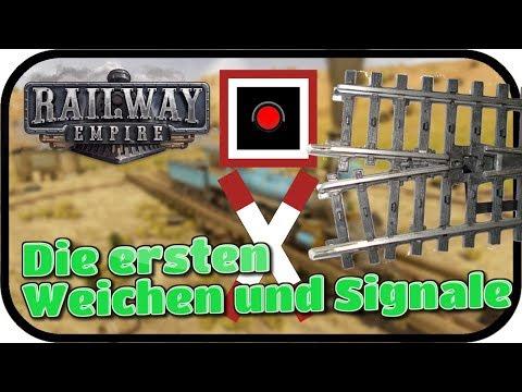 RAILWAY EMPIRE - Die ersten Weichen und Signale #002 ★ Lets Play Eisenbahn Simulator Deutsch