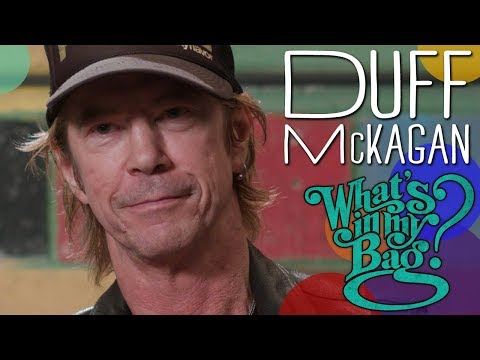Duff McKagan – What's In My Bag?
