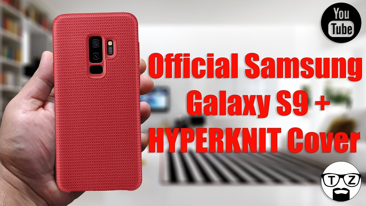 buy online 05987 631a2 Official Samsung Galaxy S9 Plus HYPERKNIT Cover