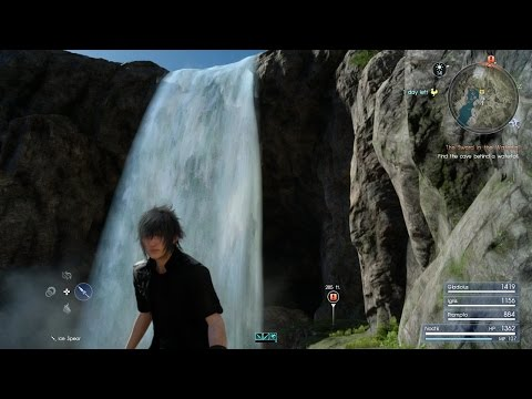 Final Fantasy XV Blind Playthrough Part 11: This Cave Is Deadly