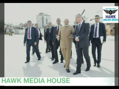 PM Modi Visit Palestine   And Meets Palestine President