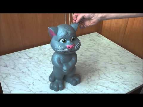 Говорящий кот Том интерактивная игрушка с новыми возможностями .