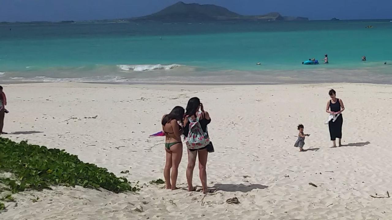 Kailua Beach Park Beautiful Beach On The Island Of Oahu Hawaii Great For Families And Kids