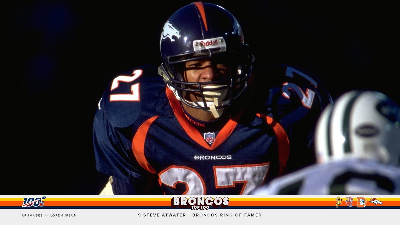 new style 1e33d 8f007 'If [Steve Atwater] ever hit me, I'm dead'   Broncos 100
