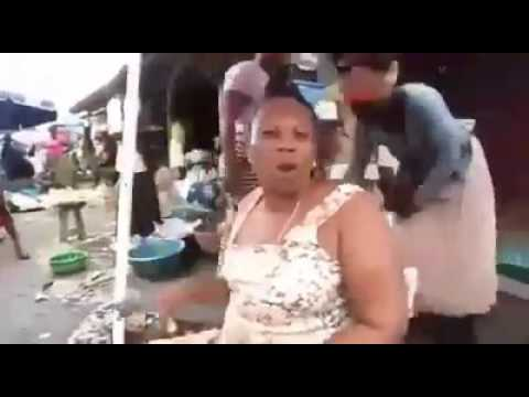 Sierra Leone market women angrily voicing their views out for government assistance