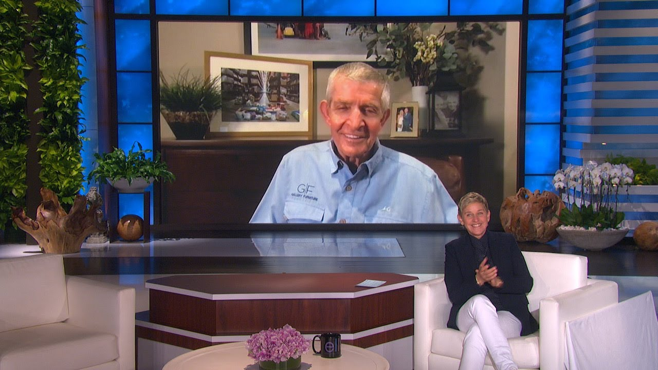 Ellen Meets Incredible Texas Hero 'Mattress Mack'