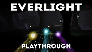 EverLight - Playthrough (relaxing indie adventure game)