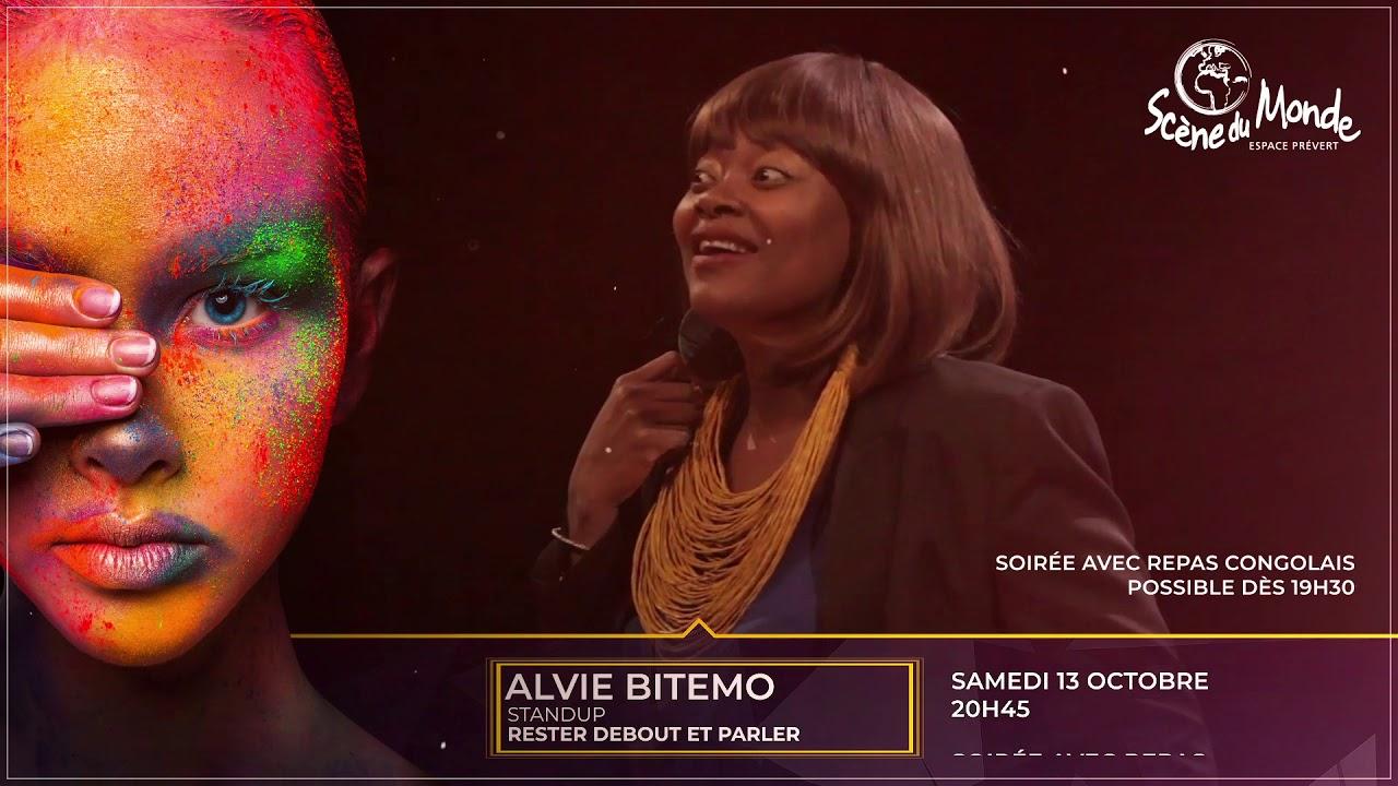 Alvie Bitemo à l'Espace Prévert - Scène du Monde