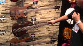 Baixar Winter NAMM 2014 Ibanez GSR200BWNF Series Basses